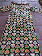 Girls Stockbridge Home Plush Fleece Heart Snuggie Wearable Blanket Throw