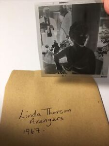 Linda Thorson. Avengers. 2x2 Vintage Original Negative . 1967