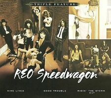 Triple Feature [Digipak] by REO Speedwagon (CD, Nov-2009, 3 Discs, Sony BMG) New