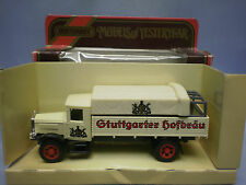 MATCHBOX MODELS OF YESTERYEAR Y-6 1932 MERCEDES BENZ L5 LORRY STUTTGARTER HOFBRA