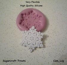 Large Detailed Snowflake 2 Christmas Xmas Silicone Mould,Sugarcraft,Chocolate
