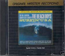 Beach Boys Surfer Girl/Surfin 'Usa MFSL ORO CD U i NUOVO