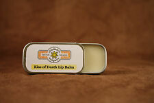 Homemade Lip Balm - KISS OF DEATH  -Sundance Soapery - All Natural -Handmade-