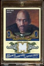 MICHAEL JORDAN UD GOODWIN GW WHITE PATCH W/ STITCHES