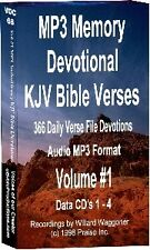 Memory Devotional KJV Bible 35,000 Verse Files