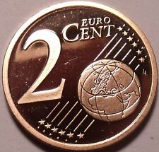 PROOF GERMANY 2007-D 2 EURO CENT~WE HAVE PROOF COINS~FREE SHIPPING~