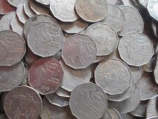 100 Coins LOT - 1997,1998,1999 and 2000 - Foreign Mints - Rs 2 Coin - india