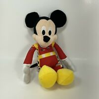 "Disney Just Play Mickey Mouse Racing Plush 8"" Stuffed Animal Toy Driver"