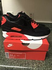 nike air max 90 anniversary Black Infrared Size 9.5 Ds