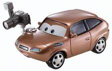 Nuevo Disney Cars Cora Cobre Cámara reportero 1:55 Diecast Escala bhw18 w1938