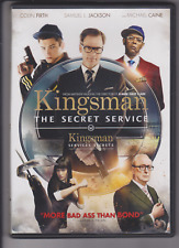 Kingsman: The Secret Service (DVD, 2015, Canadian)