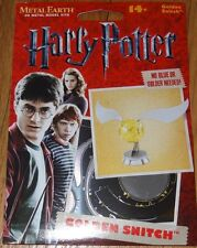Golden Snitch Harry Potter Metal Earth 3D Laser Cut Metal Model Kit MMS442