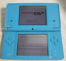 Nintendo DS Light Blue TESTED Working good condition NO Charger