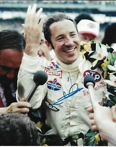 MARIO ANDRETTI SIGNED 8X10 PHOTO INDY 500 1969 WINNER INDIANAPOLIS 2018 CARS I