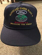 Ford Cleveland Engine Plant 2 Baseball Hat Duratec V-6, Onesize, USA Made