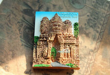 Kambodscha Angkor Wat Reiseandenken Souvenir 3D Kühlschrankmagnet Reise Magnet