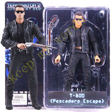 "NECA Terminator 2 Judgment Day T-800 Pescadero Escape 7"" PVC Action Figure Toy"