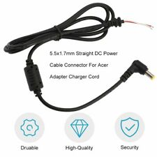 5.5x1.7mm Straight DC Power Cable Connector For Acer Adapter Charger Cord KW
