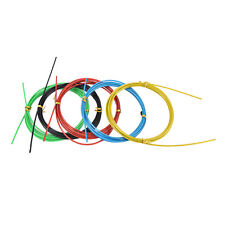 Colorful Crossfit Replaceable Wire Cable Speed Jump Ropes Skipping R YK
