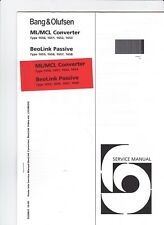 Bang & Olufsen Original Service Update ML/MCL Converter & BeoLink Passive