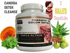 Potent Candida Cleanse Infection Treatment and Detox with Herbs Enzymes Yeast #1