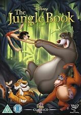 THE JUNGLE BOOK DISNEY DVD WHITE CLASSICS NUMBERED UK RELEASED STOCK