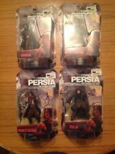 Lot Of 4 Prince Of Persia The Sands Of Time 6 Inch Action Figures.