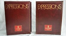 Lladro Expressions Magazine Binders with 1990-1992 magazines - Vintage