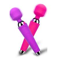 Gode Vibromasseur Sans Fil Rechargeable USB Sextoy Stimulateur pour Clitoris