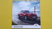 Kia Sportage GT-Line S KX-5 brochure catalogue & price list December 2016 MINT