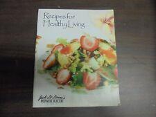 Recipe For Healthy Living Jack La Lanne's Power Juicer Express