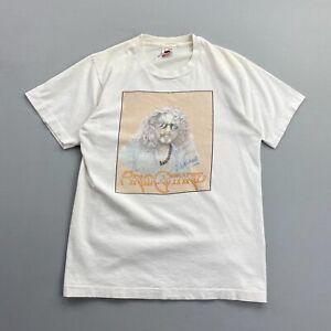 Vintage Arlo Guthrie White Distressed Autographed T Shirt Mens Medium