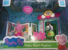 Peppa Pig Photo Booth Playtime Set With Figures In Box Jazwares