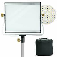 Dimmable Bi - color LED Light Panel for Photo Studio Photography 1PACK