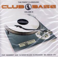 Musique-DOUBLE CD Neuf/Neuf dans sa boîte-Club Base-Volume 9-The Finest clubsound