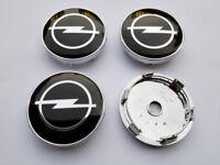 ☆ 4 LOGO EMBLÈME OPEL  60 mm caches moyeu jante, centre de roue/ NEUF ☆