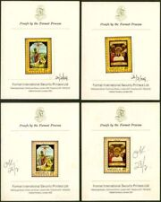 Anguilla 1969 Easter Paintings PROOFS/PRINTER'S CARDS-2