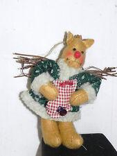 Estate=Christmas Ornament: Stuffed Raindeer Gal = Sticks for Wings LOOK Unique