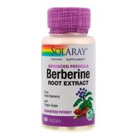 Berberine Root Extract - Advanced Formula - 60 Veg Caps BERBERIS ARISTATA HCI