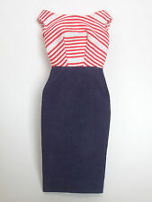VHTF Vintage Barbie - CRUISE STRIPES #918 (1959-62) - DRESS TM tag
