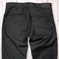 Mens ARMANI Jeans J21 W32 L34 Black Regular Straight Fit 🇮🇹