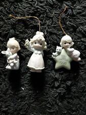New ListingPrecious Moments Lot of 3 Enesco Porcelain Figurines 3 with original Box