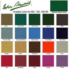Simonis 860 Cloth 9' Pool Table Free Shipping Pick Your Color