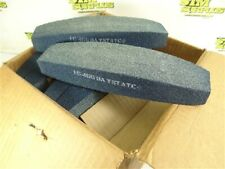 """New listing Case Of 12 New! Baystate Silicon Carbide Molded Boat Stones 1-1/2"""" X 2-3/8"""""""
