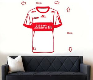 Hull KR Rovers Rugby Shirt Wall Art Sticker/Decal