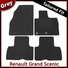 Renault Grand Scenic Mk3 2009 onwards Tailored Fitted Carpet Car Floor Mats GREY