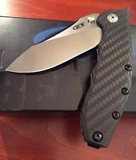 ZERO TOLERANCE ZT  0562 CF HINDERER SLICER KNIFE NEW AUTH DEALER