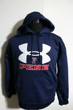 men's under Armour hoodie long sleeve  small PENN