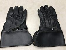 Vintage Harley Davidson Leather Motorcycle Gloves - Size 11