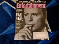 Entertainment Weekly David Bowie January 22 2016 Tribute Issue EW 1/22/16